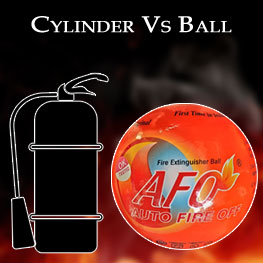 Fire Extinguisher Cylinder vs Ball