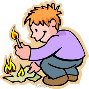 kids with matches