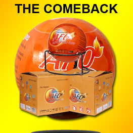 The Comback of Fire Extinguisher Ball